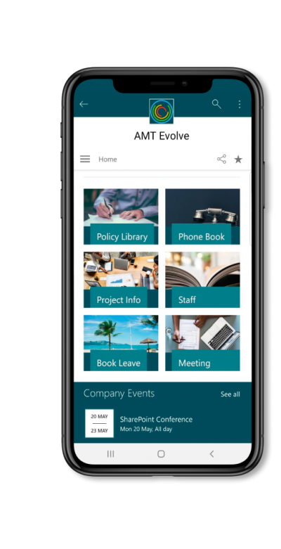 sharepoint-intranet-mobile