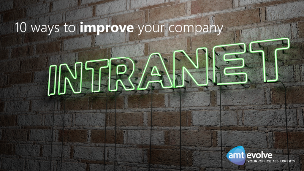 10 ways to improve your company intranet